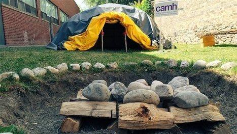 Première hutte à sudation dans un hôpital enOntario | Cette nature qui nous soigne | Scoop.it