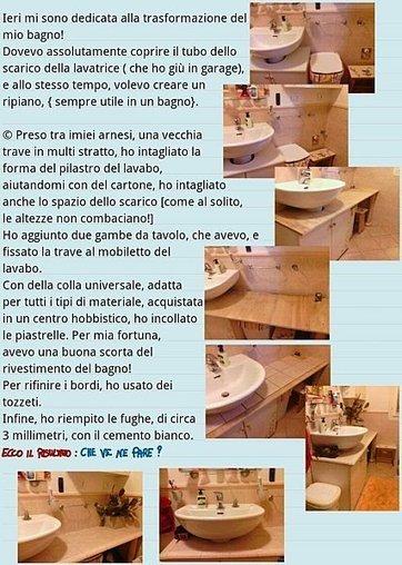 Come creare un ripiano con piastrelle in bagno | A casa, in casa, per la casa e più | Scoop.it