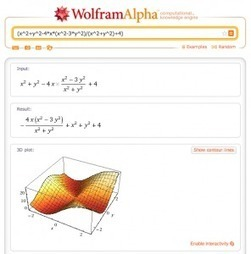 10 utilisations géniales de WolframAlpha | Time to Learn | Scoop.it