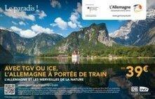 Allez en Allemagne en train à grande vitesse ! - Destination sur Le Quotidien du Tourisme | Allemagne tourisme et culture | Scoop.it