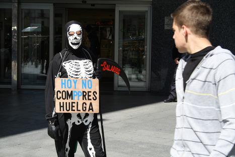 Portraits de grévistes espagnols | Union Européenne, une construction dans la tourmente | Scoop.it