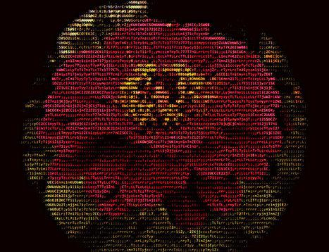 ASCII-Fish Eye Lens Flower II   ASCII Art   Scoop.it