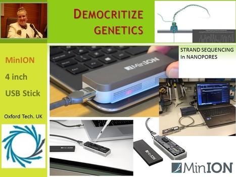 DEMOCRITIZE & BRING HOME GENETICS   Health 4.0   Scoop.it