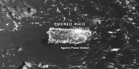 Puerto Rico Goes Dark : Image of the Day | Aprendiendo a Distancia | Scoop.it