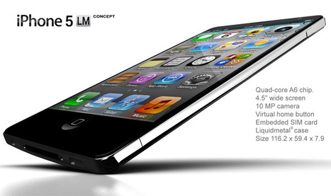 The iPhone 5 Might Look Like This | Mobile Technology | Scoop.it
