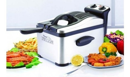 Toyomi Deep Fryer Stainless Steel At 23% Offer At Meritsale.com.sg | Online Singapore Shopping | Scoop.it