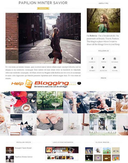 ELEGANT Blogger Template Free Download | Blogger themes | Scoop.it