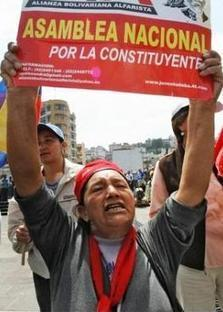 La Constituante Nationale de l'Équateur | Démocratie en ligne, participative et délibérative | Scoop.it