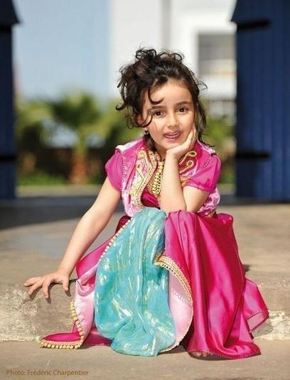 Robe marocaine pour petite fille | caftanboutique | Scoop.it