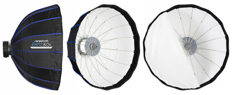 This deep 24″ collapsible beauty dish folds down to just 6″ | Photography Stuff For You | Scoop.it