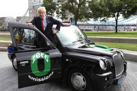 7000 taxi elettrici per rivoluzione traffico a Londra - ANSA.it | Cars and motors | Scoop.it