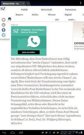 Haderthauer ohne Einsicht - Tweet from @Muschelschloss | Ein Schand- und Sittengemälde - Die #Haderthauer's | Scoop.it