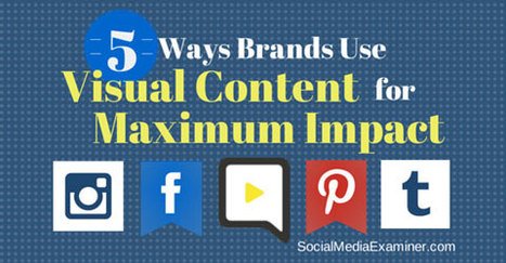 Five Ways Brands Use Visual Content for Maximum Impact | | Marketing & Webmarketing | Scoop.it