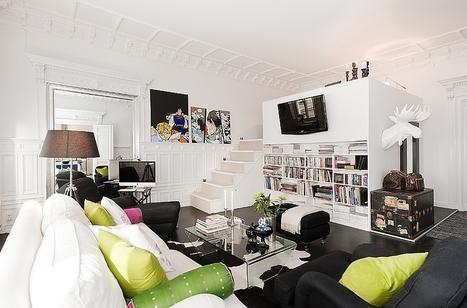 Amazing interior design in Stockholm | Décorations en tous genres | Scoop.it
