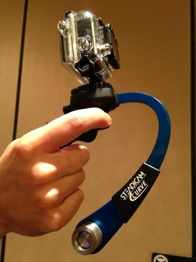 NAB 2013: Steadicam Solo combination stabiliser/monopod and Steadicam Curve for GoPro | photography | Scoop.it