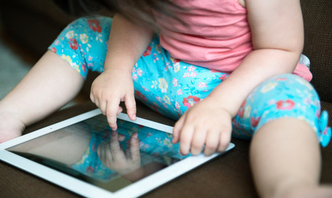 Toddlers can use iPads by age two - Futurity | Cyborg Lives | Scoop.it