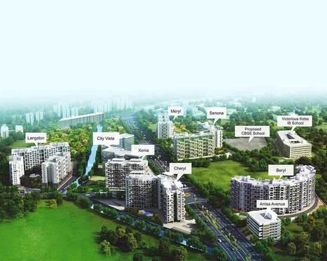 Downtown Langston - 3 BHK Apartments in Kharadi | Kolte Patil | Scoop.it