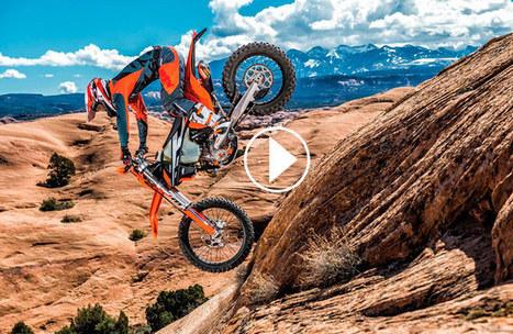 Vidéo : les KTM  EXC  2017 en action | Actualité  moto enduro - Freenduro.com | Scoop.it