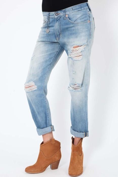 Le must-have 2014 : le jean boyfriend | Le denim, un état d'esprit chez Uncle Jeans | Scoop.it