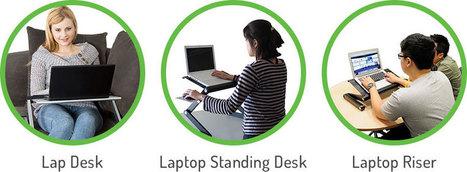 WorkEZ Cool   Adjustable Ergonomic Stand Up Desk   Scoop.it