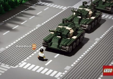 Lego History Campaign | All Geeks | Scoop.it