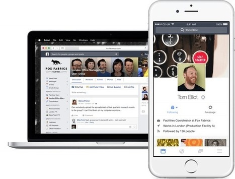 Facebook at Work : tout ce qu'il faut savoir | What's up in IT Marketing | Scoop.it