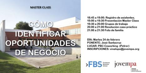 Jovempa organiza Master Class de Fundesem en PBC Coworking | Actividad Jovempa Vinalopó | Scoop.it