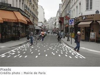 Passages piétons : des marquages innovants à Paris | Bordeaux | Scoop.it