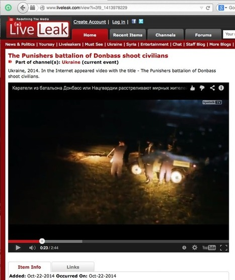 Media Blackout as U.S. Sponsors Genocide in Southeastern Ukraine | THE POWERS THAT BE | Scoop.it