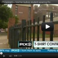 Philadelphia teacher bullies student wearing Romney-Ryan t-shirt | Clipboard | Littlebytesnews Current Events | Scoop.it