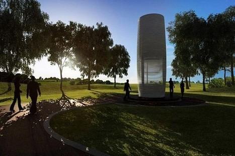 Smog Free Tower : une tour qui purifie l'air | 694028 | Scoop.it