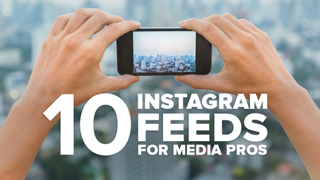 10 Instagram Profiles Every Media Professional Should Follow | Public Relations & Social Media Insight | Scoop.it