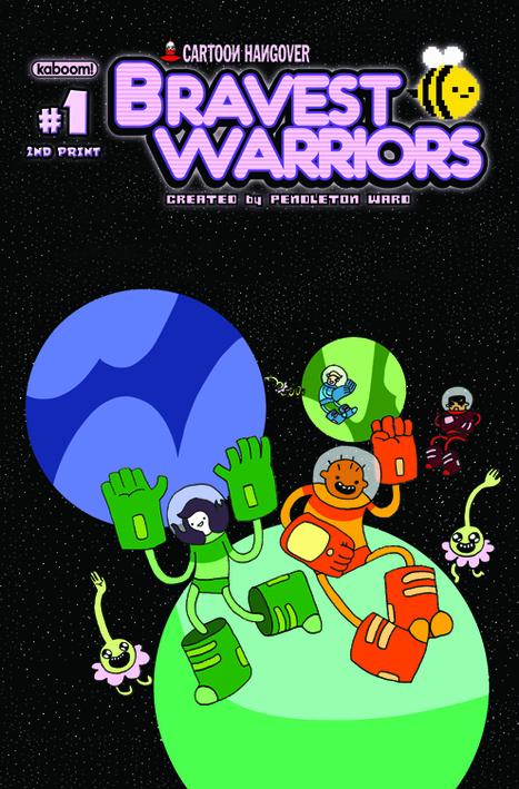 Bravest Warriors #1 Sells Out Before Release, Here's The Second Print Cover | Comic Books | Scoop.it