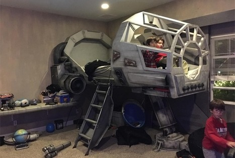 This Millennium Falcon Bed Is Way Better Than Your Old Race Car Bed | INTRODUCTION TO THE SOCIAL SCIENCES DIGITAL TEXTBOOK(PSYCHOLOGY-ECONOMICS-SOCIOLOGY):MIKE BUSARELLO | Scoop.it