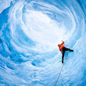 Gallery: Extreme shots by daredevil adventure photographer | Glaciers: Art and Science | Scoop.it