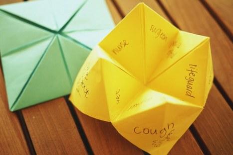 Fortune teller revision activity | Linguarum - Jeziki | Scoop.it