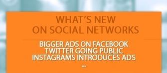 Ce qu'il faut savoir sur les réseaux sociaux : Nouveau format des pub Facebook, Twitter en bourse, Instagram & la pub… | PageYourself | Scoop.it