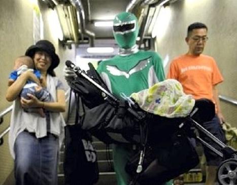Au Japon, un Power Ranger au service des personnes agées | Jeunes retraités | Scoop.it
