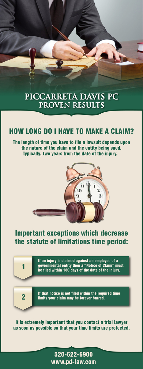 How Long Does it Take to Make a Claim? | Piccarreta Davis PC | Scoop.it