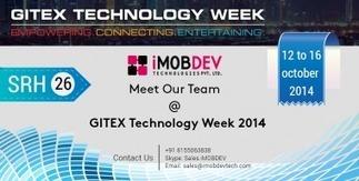 iMOBDEV plans Huge Participation at GITEX Technology week DUBAI, 2014 | PRLog | Hire Open Source Web Developer | Scoop.it