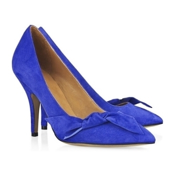 Buy New Style Isabel Matant Blue Suede Charming High Heels With Free Shipping   Isabel Marant Shoes   Scoop.it