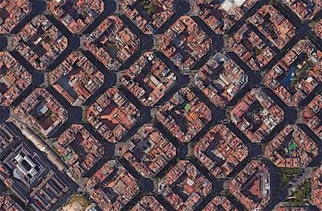 "Barcelona is turning its streets into ""citizen spaces"" (""superblocks idea in 1867 now making sense"") 