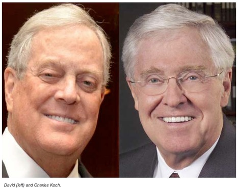 The Invisible Hand behind the Koch Brothers 'dark money' | Coffee Party News | Scoop.it