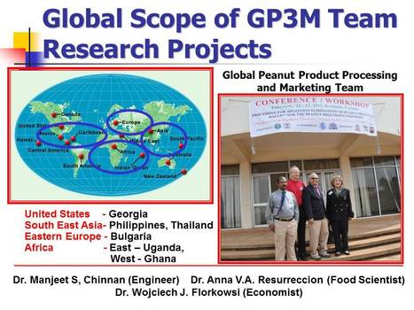 GP3MT Assists in Food Security through Enterprise Development in Under-industrialized Nations | Anna V.A. Resurreccion, Ph.D., CFS  International Food Security, Food Product-Process Development and Innovation, Food Business Development | Scoop.it