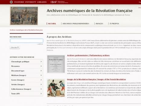Archives numériques de la Révolution française | Nos Racines | Scoop.it