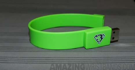 USB Flash Drive Bands To Support Diabetes Day | Craze On Wristbands | Scoop.it