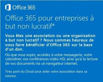 Office 365 E1 gratuit pour les associations, mauvaise affaire pour le logiciel libre ? | La veille en ligne d'Open-DSI | Scoop.it