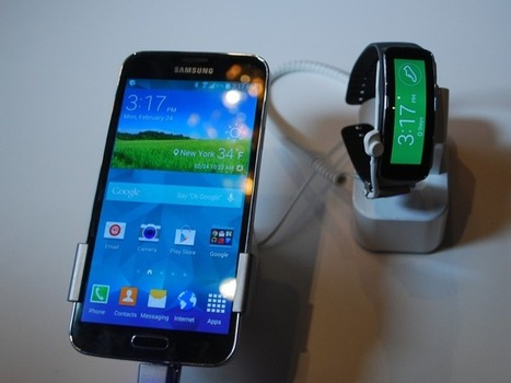 Hands on with the Samsung Galaxy S5 and Gear Fit — Tech News ... | Trending Tech | Scoop.it