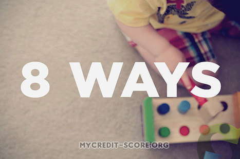 8 Ways to Increase Your Credit Score | Free Credit Report | Scoop.it