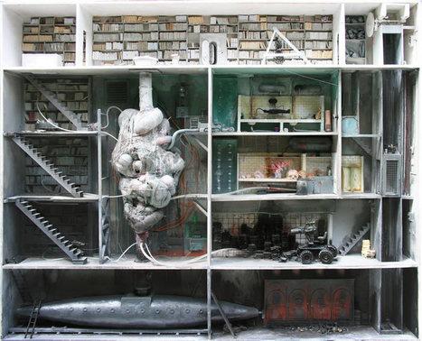 Juxtapoz Magazine - Marc Giai-Miniet's Miniature Boxes | Arty Brain | Scoop.it